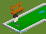 Mini-golf-game-with-a-boy