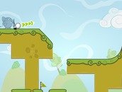 Golf-game-with-an-elephant