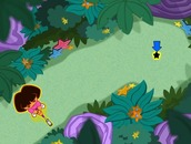 Gioco-di-golf-con-dora-the-explorer