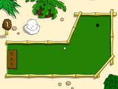 Game-mini-golf-ne-nje-ishull